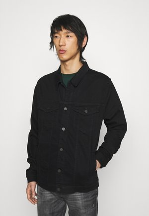 PERFECT LUXE PERFORMANCE - Denim jacket - blue black