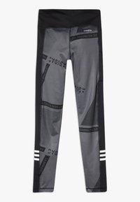 adidas Performance - Collant - grey six/black/white - 1