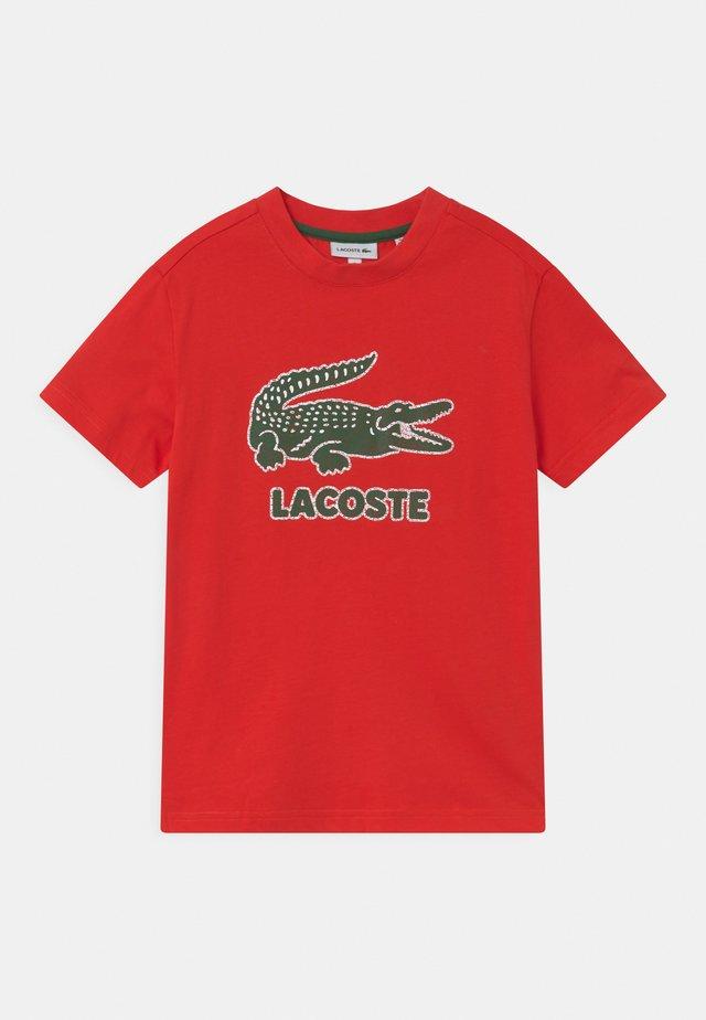 TEE LOGO UNISEX - T-shirts print - redcurrant bush
