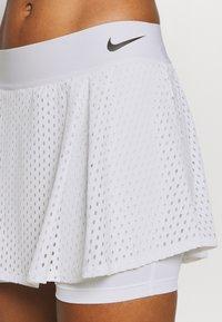 Nike Performance - DRY SKIRT - Sportovní sukně - white/black - 4