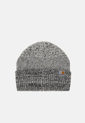 BLIZZARD BEANIE - Čepice - grey heather/black