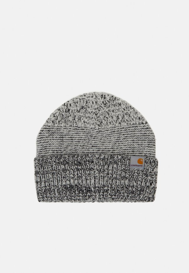 BLIZZARD BEANIE - Pipo - grey heather/black