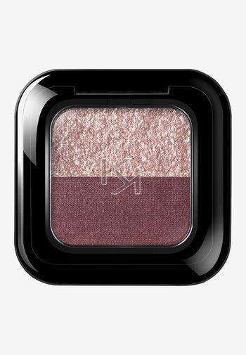 BRIGHT DUO EYESHADOW - Eye shadow - 15 pearly mauve/metallic burgundy