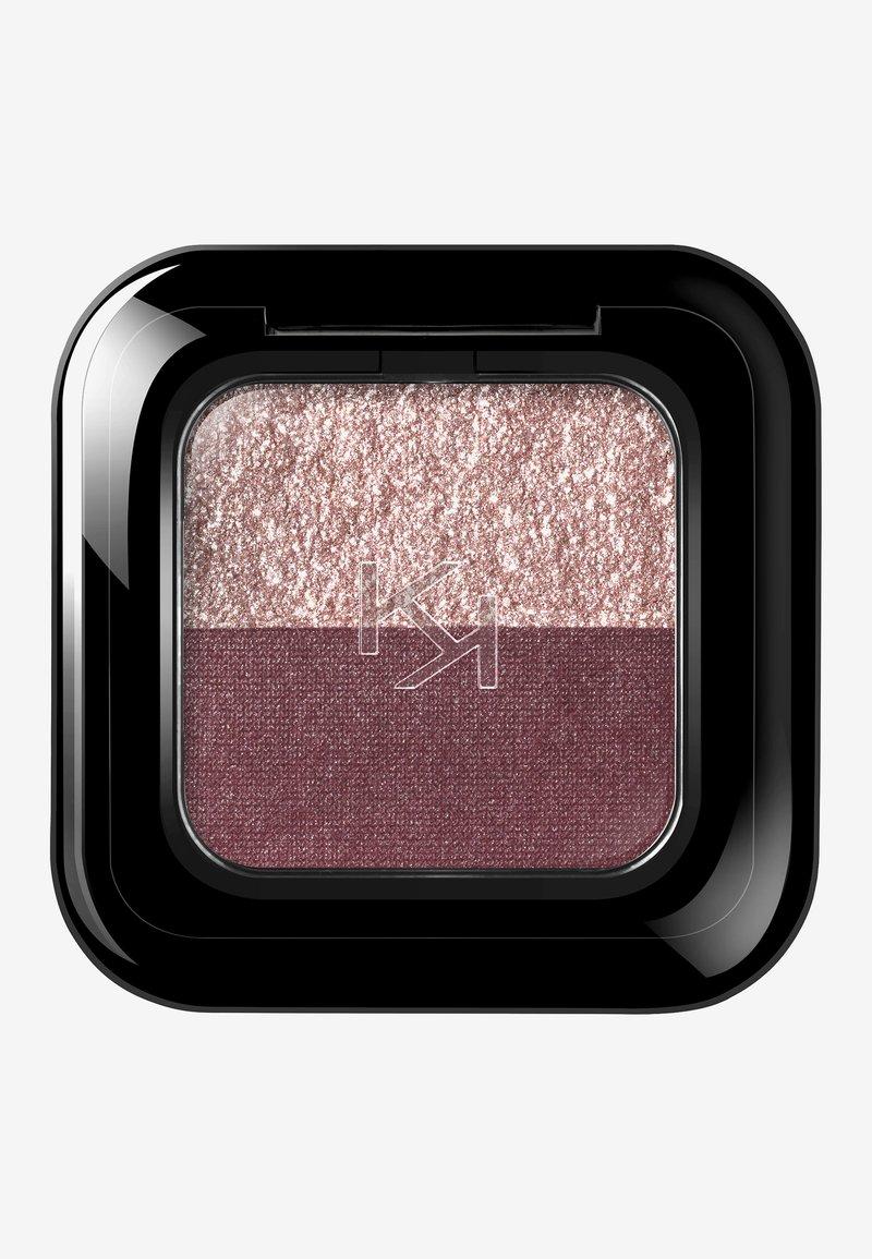 KIKO Milano - BRIGHT DUO EYESHADOW - Eye shadow - 15 pearly mauve/metallic burgundy