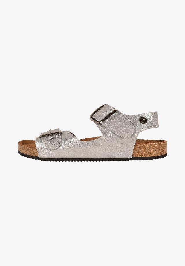 CAJOU F2G - Walking sandals - silver