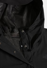 The North Face - WOODMONT RAIN JACKET - Vodotěsná bunda - tnf black - 4