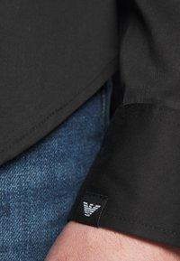 Emporio Armani - SHIRT - Shirt - black - 5