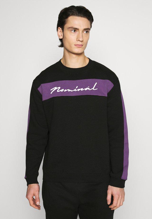 LUCAS TRACKSUIT - Sweatshirt - black