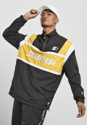 RETRO - Windbreaker - black/golden/white