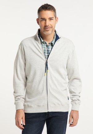 Sweater met rits - cloud