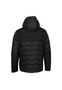 EA7 Emporio Armani - MIT KAPUZE - Winter jacket - black - 1