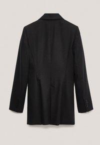 Massimo Dutti - Short coat - black - 4