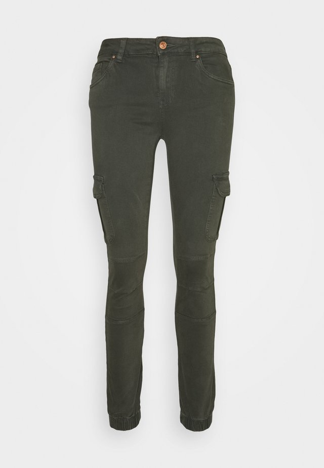 ONLMISSOURI ANKLE CARGO PANT - Cargo trousers - rosin