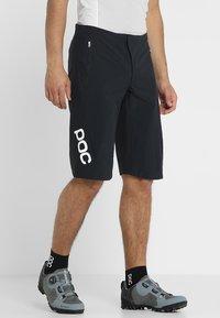 POC - ESSENTIAL ENDURO SHORTS - Sports shorts - uranium black - 0