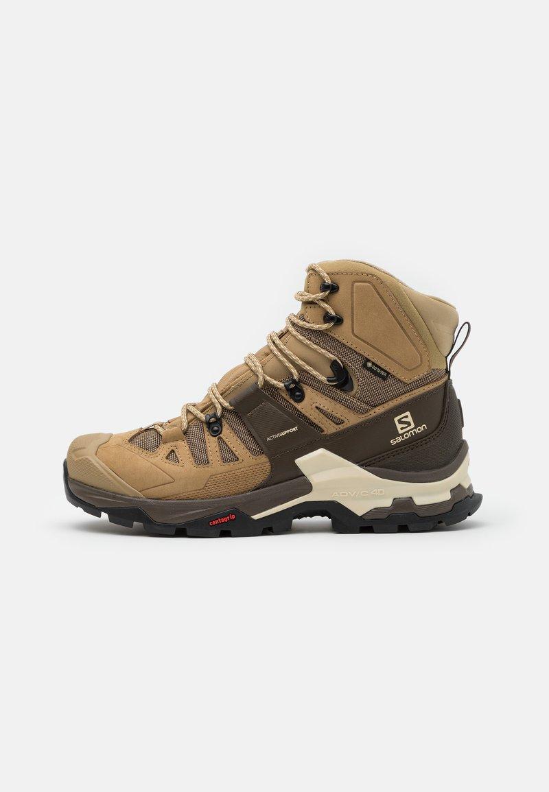 Salomon - QUEST 4 GTX - Hiking shoes - kelp/wren/bleached sand