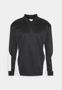V NECK - Sweatshirt - black