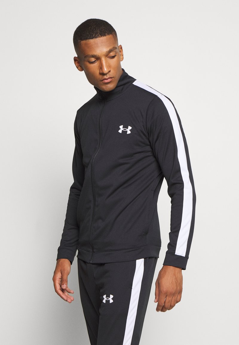 Under Armour - EMEA TRACK SUIT - Survêtement - black
