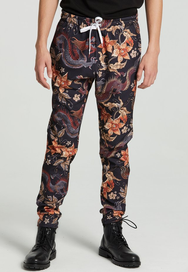 JAPANESE DRAGON  - Pantaloni sportivi - black