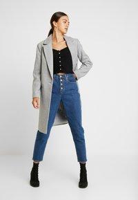 Miss Selfridge - SKINNY  - T-shirt à manches longues - black - 1