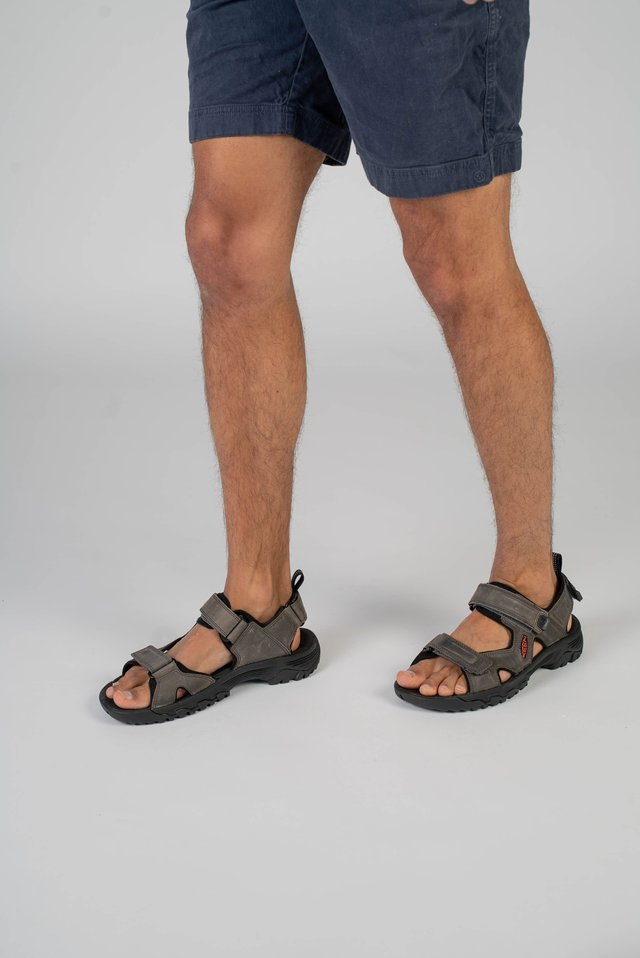 TARGHEE III - Walking sandals - grey/black