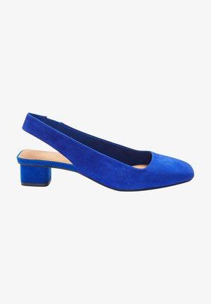 Classic heels - blue grey