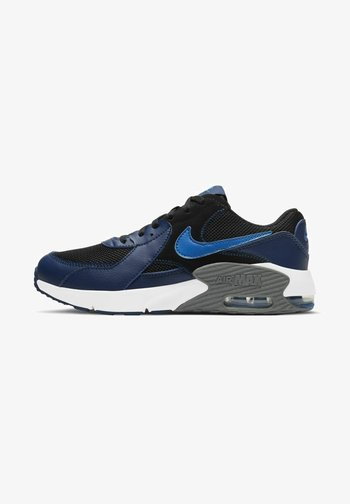 NIKE SPORTSWEAR AIR MAX EXCEE SNEAKER KINDER - Trainers - black/blue void/iron grey/signal blue