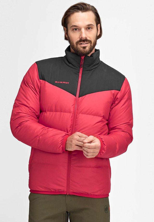 WHITEHORN - Down jacket - magma-black
