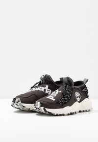 Timberland - RIPCORD FABRIC - Trainers - black - 2