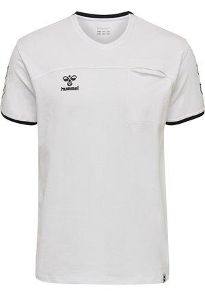 HMLCIMA  - T-shirts print - white