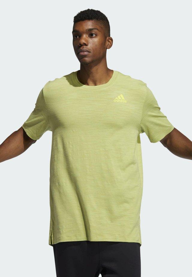 T-SHIRT CITY ELEVATED - Basic T-shirt - yellow