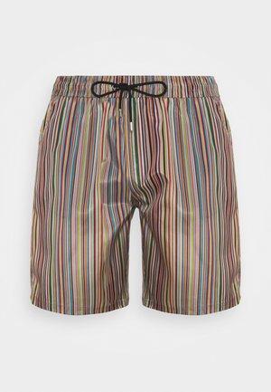 MEN SHORT MULTISTRIPE - Swimming shorts - multi-coloured