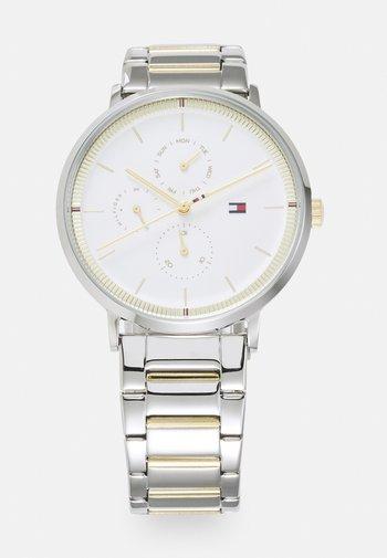 JENNA - Klokke - silver-coloured/white