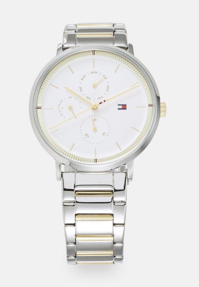 JENNA - Horloge - silver-coloured/white