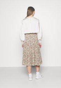 ONLY - ONLKENDALL SKIRT - A-line skirt - pumice stone/green - 2