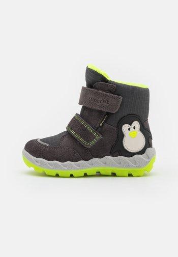 ICEBIRD - Winter boots - grau/gelb