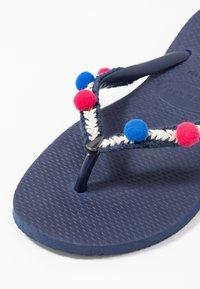 Havaianas - SLIM BOHO - Pool shoes - navy blue - 6