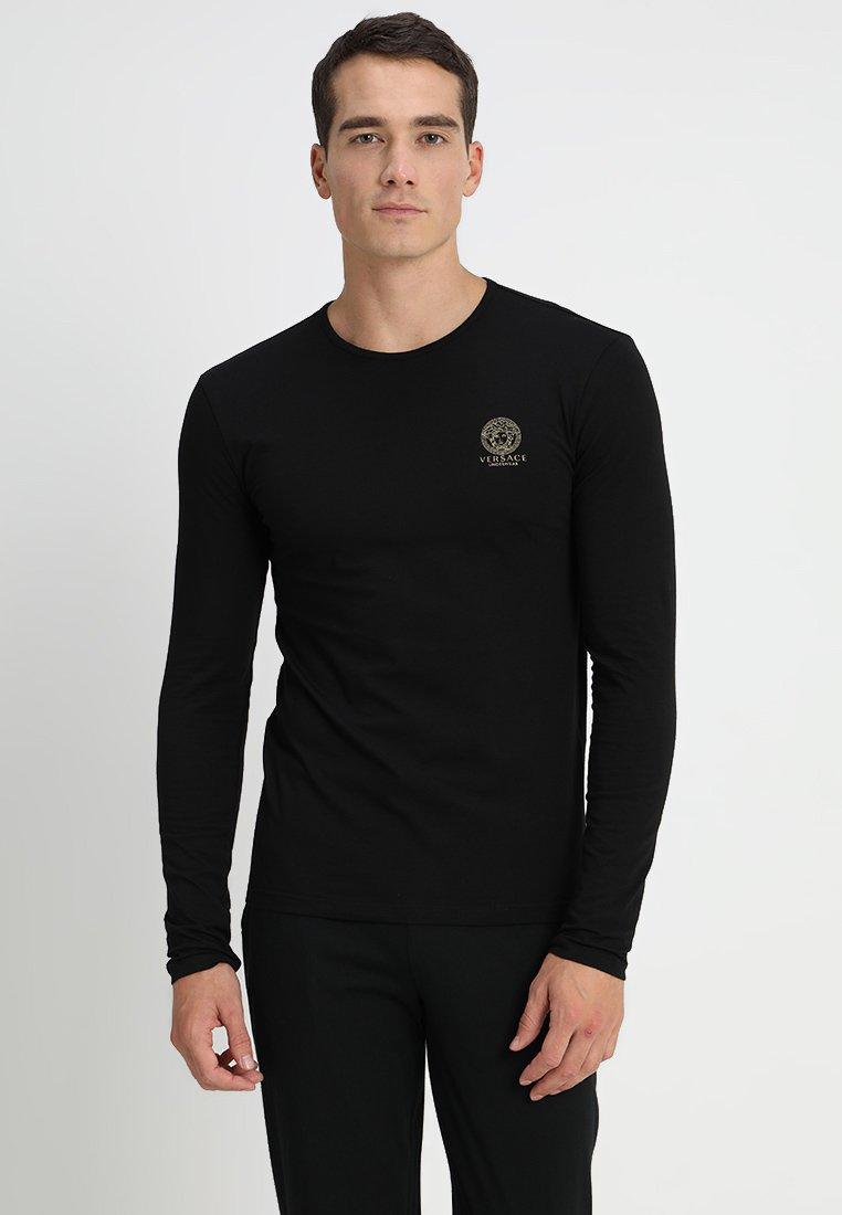 Versace - GIROCOLLO - Haut de pyjama - black