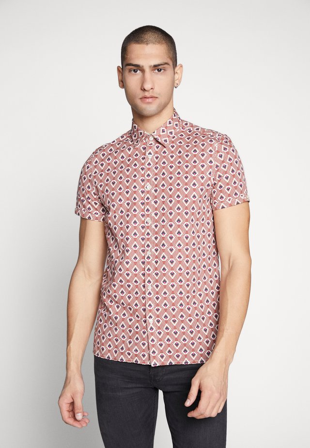 CAIRO AZTEC GEO - Shirt - red