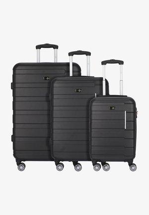 Luggage set - schwarz/grau