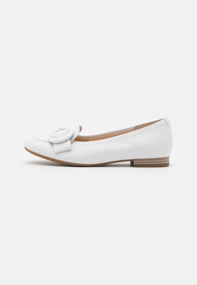 Scarpe senza lacci - weiß