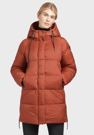 NIDALEE - Winter coat - blassrot