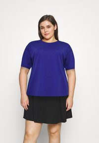 Anna Field Curvy - Basic T-shirt - blue - 1