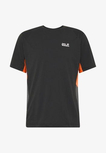 NARROWS - Print T-shirt - black