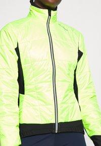 LÖFFLER - BIKE ISO JACKET HOTBOND - Winterjas - neon yellow - 5
