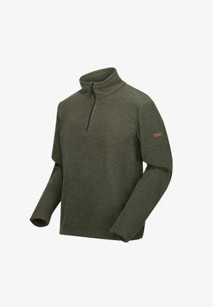 EDLEY - Fleece jumper - dark khaki