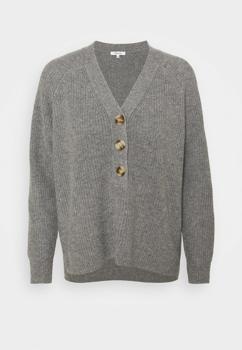 Madewell - SOLID JO JO - Svetr - heather grey
