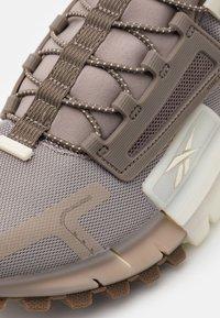 Reebok Classic - ZIG KINETICA EDGE - Sneakersy niskie - grey/classic white - 5