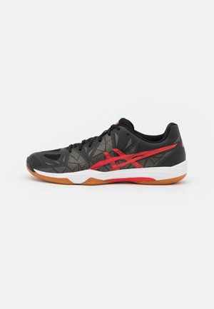 GEL FASTBALL 3 - Handball shoes - black/electric red