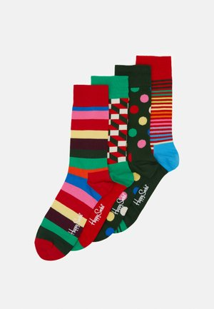 CLASSIC HOLIDAY GIFT SET CREW SOCKS 4 PACK - Calcetines - multi
