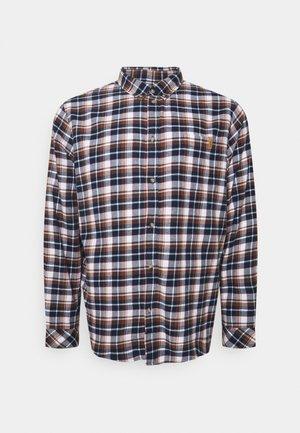 Shirt - dark blue/brown